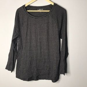 LOFT Striped Long Sleeve Top NWT